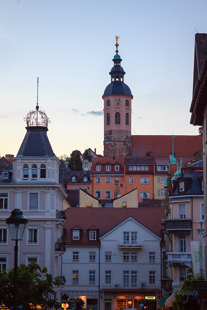 Old-fashioned architecture